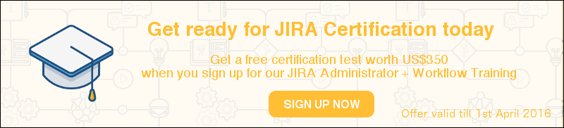JIRA training 2016