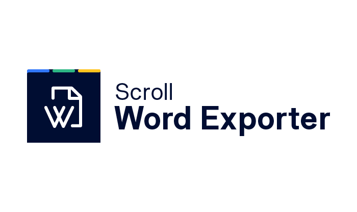 Scroll Word Exporter
